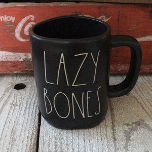 Rae Dunn LAZY BONES Mug